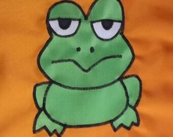 Little Green Frog Boat Flag Burgee