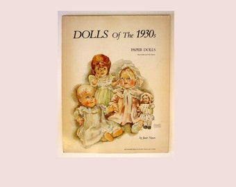 Paper Dolls of the 1930's - 1976 Printing Janet Nason and Athena Publishing Co.