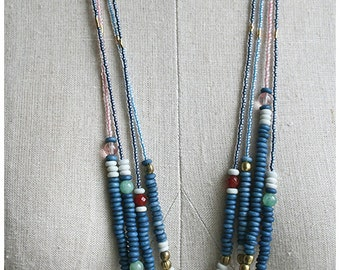 Bohemian Necklace, Long Necklace, Layering Jewelry