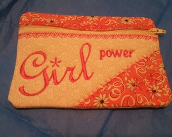 Make up bag, but could be used for coin purse, cell phone purse