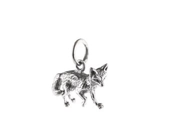 Little Fox Sterling Silver Charm