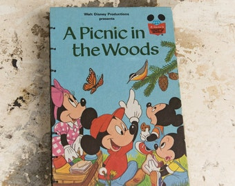 WALT DISNEY Vintage Notebook Journal