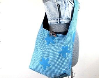 Large Crossbody Bag - Vegan Bag for Women - Oversized Bag - Cross Shoulder Bag - Crossbody Hobo Bag - Hippie Bag - Hobo Handbag - Slouch Bag