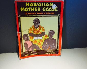 Hawaiian Mother Goose Book Tutu Nene Soft Cover Illustrated
