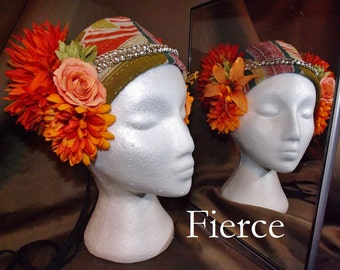 ATS Tribal Fusion Belly Dance Headpiece, Fierce