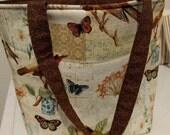 Clearance, Pint sized mason jar lunch bag, taat sock knitting