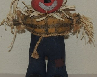 Vtg HALLOWEEN Pumpkin Man Decoration
