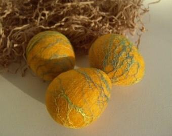 Easter Eggs - Felted Eggs - Spring Egg Ornament