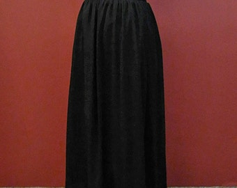 Gothic Dark Lace  Long Skirt