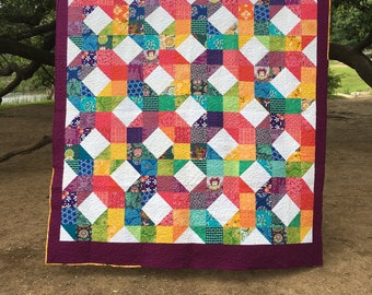 Hugs and Kisses Queen size quilt