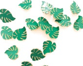 Monstera leaf Broche Pin Badge