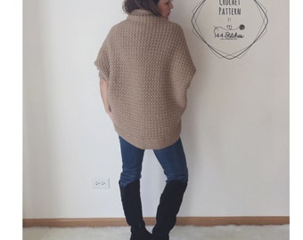 Crochet Shrug Pattern, The Serenity Shrug Crochet Pattern, Instant PDF Download