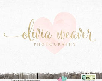 premade logo logo design logo photography logo photography logos and watermarks photographer logo heart logo blog logo