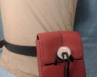 Belt Bag in Terra Cotta Leather