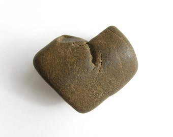 Heart Shaped Rock - Natural River Beach Stone - Love Pebble - Valentine Gift