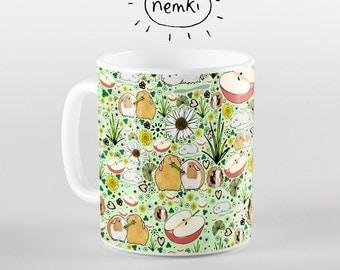 Cute Guinea Pig Mug, Guinea Pig Gifts, Guinea Pig Cup, Cute Guinea Pig Coffee Mug, Cute Guinea Pig Gifts, Guinea Pig Design, Guinea Pig
