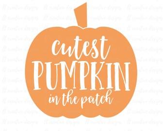 Pumpkin SVG, Thanksgiving SVG, Fall SVG, Pumpkin Cutting Files, Svg Files, Cricut Cut Files, Silhouette Cut Files