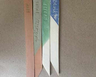 READY TO SHIP: Herb Garden Markers