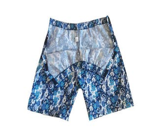 SIDE OPEN SHORTS, Velcro closure side open short pants, Adaptive, disabled clothes, incontenence, Shorts for bedridden, wheelchair shorts