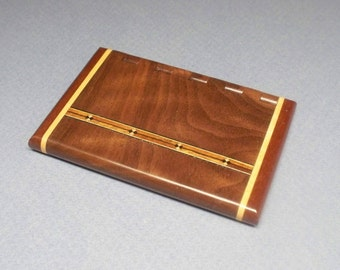 Business Card Holder, Card Case,Graduation Gift, Wooden Card Holder,Card Holder, Desk Accessory,Groomsman Gift, Business Card Display