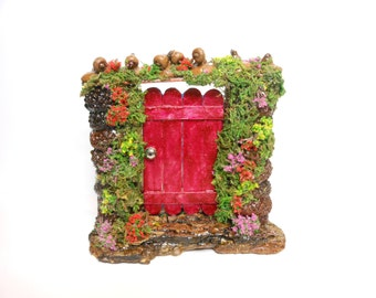 Fairy Door-2 Sided Fairy Door-OOAK-Double Sided Fairy Door