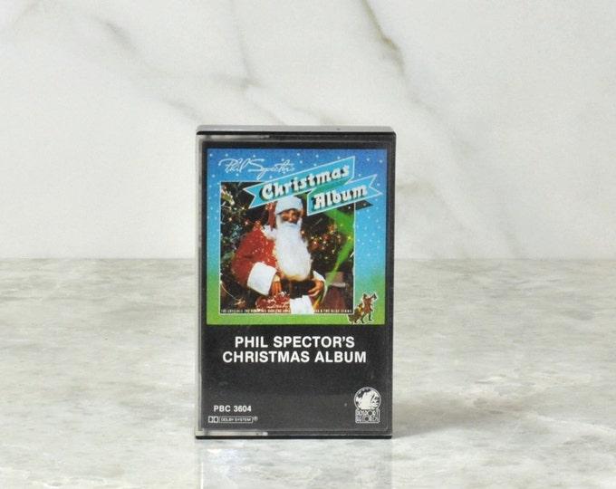 Vintage Cassette Tape Phil Spector's Christmas