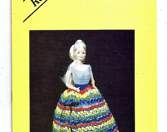 Rainbow Fashion Doll Crochet Pattern Book Eighteen by Janice rose Rader