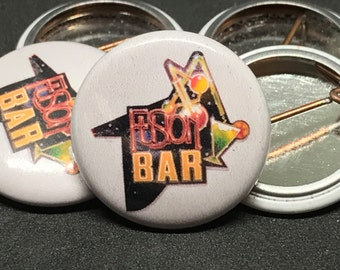 Fusion Bar | Back to the Future II | 1-inch Button
