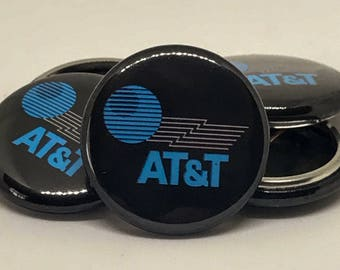AT&T 2015 Logo | Back to the Future II | 1-inch Button