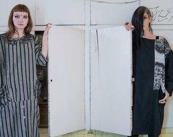 Exquisite Corpse - Redesigned VNTG Avantgarde Dress, Bauhaus Dress