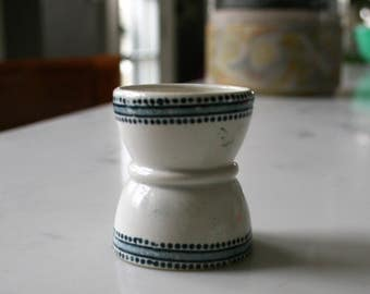 Vintage Handpainted Egg Cup  Circa 1940's