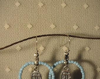 Rites #3 - Sterling Silver Headstones & Vintage Glass