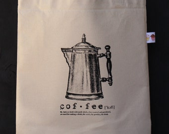Eco Coffee Market/Project Bag