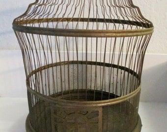 Art Deco Style Industrial Birdcage