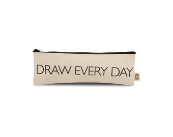 draw every day pouch