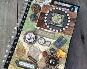 Travel Journal/Boho Journal/Writing Journal/Bullet Journaling