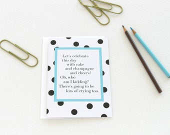 Wedding Card, Congratulations Card, Graduation Card, Engagement Card, Just Married, Proud Mom and Dad, New Baby Card, Best Friend - 146C