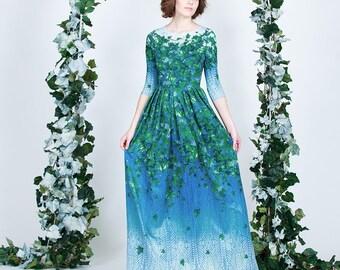 Forest Ivy  - maxi dress