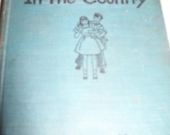 The Bobbsey Twins In the Country by Laura Lee Hope 1950's era
