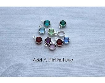 Add A Birthstone, Birthstones, Extra Birthstones, Birthstone Charms, Swarovski Birthstones, Add A Charm