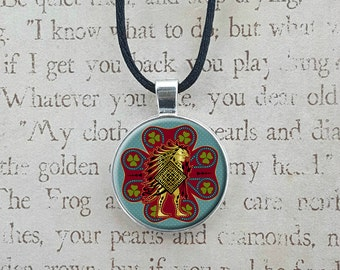 Pukwudgie Ilvermorny House Crest Harry Potter Necklace