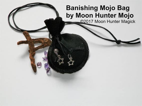 Banishing @sshole Repellent Warding Mojo Bag Moon Hunter Mojo Hand Made