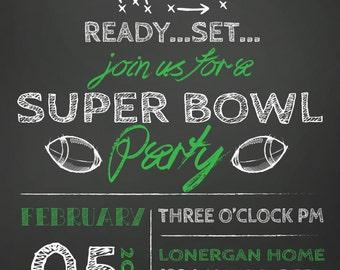 Super Bowl Party Etsy