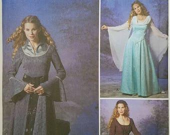 Misses' Dress Costume Pattern. Uncut. Size RR 14, 16, 18, 20. Simplicity 9891.