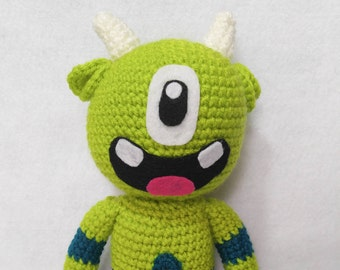 Monty Mini Monster Amigurumi