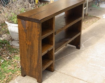 Boot Cubby Rustic Bench Shoe Bench Entryway Hallway Mudroom