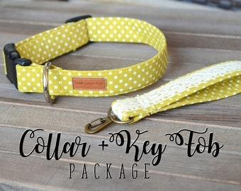 Collar + Key Fob Package