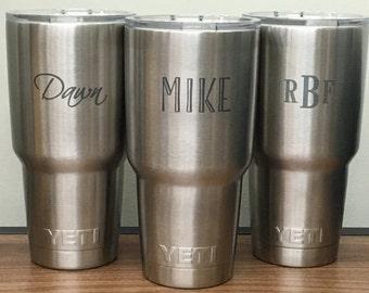 Yeti, Yeti Tumbler, Yet Rambler, Yeti Cup, Yeti Monogram, Monogram Yeti, Yeti Cup Monogram, Personalized Yeti Cup, Yeti Rambler Engraved