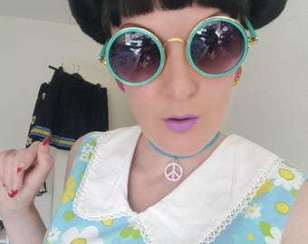 Flower Power, 60s,Daisy, GO GO, Mod, Mini Dress, DOLLY Does Vintage, She's Off Her Dolly Rocker