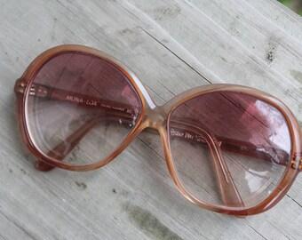 Vintage 1970's Diane Von Furstenberg 'Mona-Loa' Sunglasses France